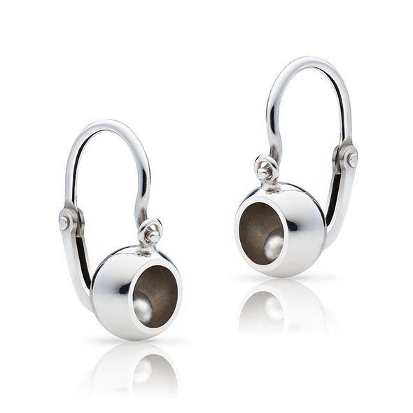 Girl´s earrings bubbbles pure