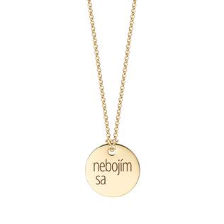 """Golden chain """"not afraid"""""""