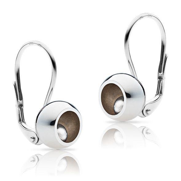 "Golden ladies´ earrings  ""Bubbbles pure"""